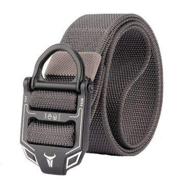 125cm ENNIU FA38-2 3.8cm Tactical Belt Nylon Adjustable Belts Zinc Alloy Buckle