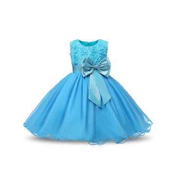 Flower Toddler Girls Kids Party Pageant Wedding Formal Princess Dress