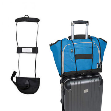 Travel Luggage Suicase Bag Bungee Nylon Black Easily Attached Luggage Bungee Luggage Strap