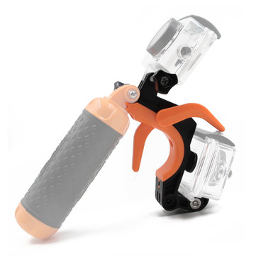 Floating Hand Grip HandlE Mount Shutter Trigger Camera Camcorder Accessory for Gopro Xiaomi Yi SJCAM