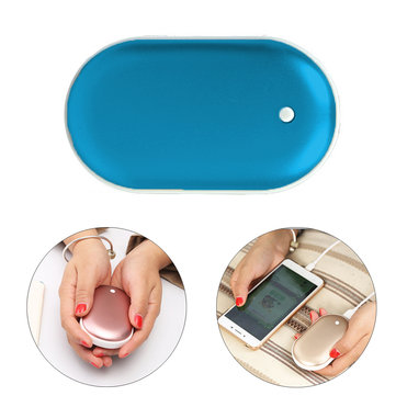 IPRee® 2 In 1 Mini USB Hand Warmer Heater 5000mAh Mobile Phone Power Bank