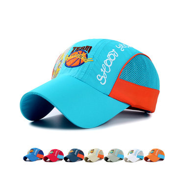 Boys Girls Baseball Cap Sports Children Hats Visor