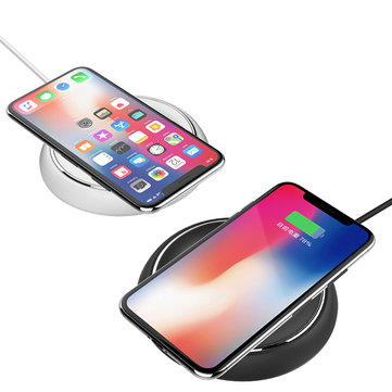 Rock W5 Fashion Wireless Fast Charing Charger Pad For iphone X 8/8Plus Samsung S8 S7 S6