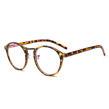 Women Mens Clear Lens Glasses Vintage Frame Matal Glasses