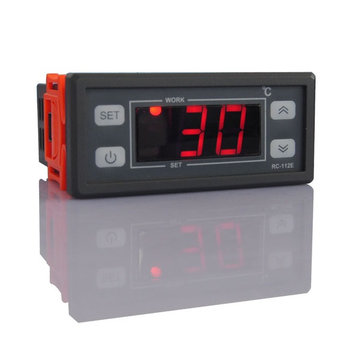 RC-112 220V/110V 10A Digital LCD Thermostat Regulator Temperature Controller