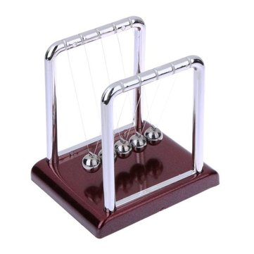 Newton Cradle Balance Steel Ball Physics Science Pendulum Development Educational Desk Toy Girf