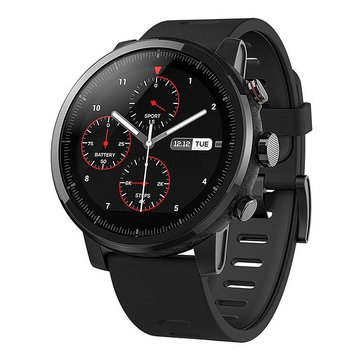 International Version Xiaomi AMAZFIT Stratos Sports Smart Watch 2 GPS 1.34inch 2.5D Screen 5ATM from xiaomi Eco-System