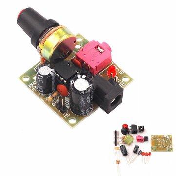 LM386 DC 3-12V 3.5mm Super Mini Audio Amplifier Board Module Audio Power Electronic Kit