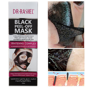 Collagen Charcoals Peel Off Blackhead Mask Acne Removal Mask Soft Smooth Facial Skin Care