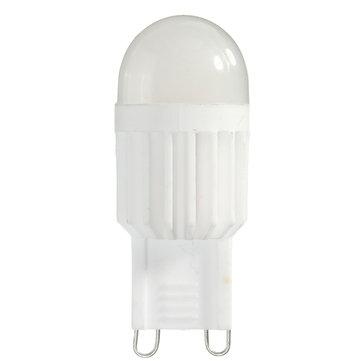 Dimmable G9 2.5W 230Lm Ceramics LED COB Warm White Natural White Light Lamp Bulb AC110V/220V