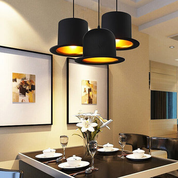 Modern Creative Hat Pendant Light Kitchen Coffee Shop Bar Ceiling Hanging Lamp Fixture