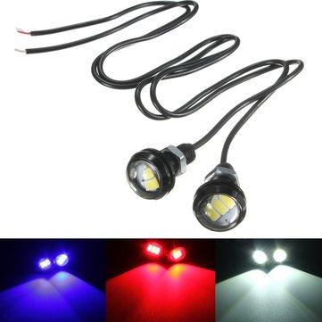 12v 10w 5630 LED орлиный глаз обратная лампа мотоцикл автомобиль интерьер двери декоративные огни