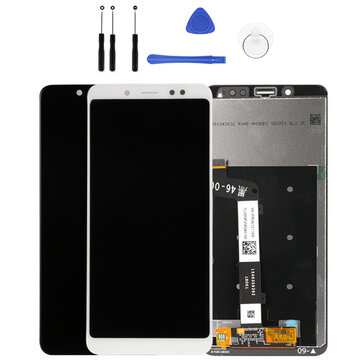 LCD Display + Touch Screen Digitizer Assembly Replacement with Tools for Xiaomi Redmi Note 5