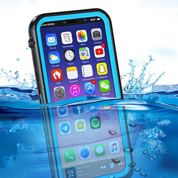 IP68 Waterproof/Dirtproof/Snowproof/Shockproof Protective Case For iPhone X
