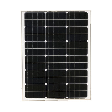 Elfeland M-50 50W 18V Mono Solar Panel Battery Charger For Boat Caravan Motorhome