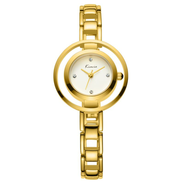 KIMIO KW6100S Fashion Women Quartz Watch Simple Ladies Dress Watch