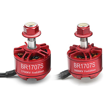 Racerstar 1707 BR1707S Fire Edition 3000KV 3700KV 2-3S Brushless Motor For RC Drone FPV Racing Frame