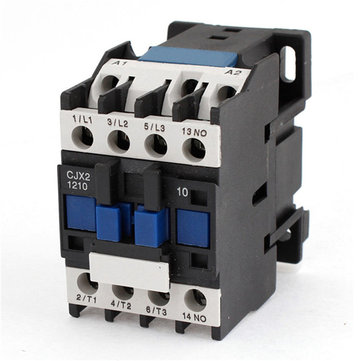 380V 50/60Hz AC Contactor 12A 3-Phase Motor Starter Relay Coil