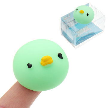 Mochi Squishy Green Duck Squeeze Cute Healing Toy Kawaii Collection Stress Reliever Gift Decor
