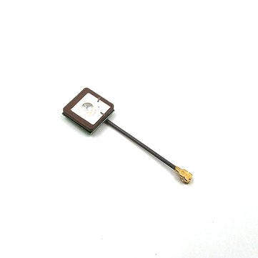 3cm 12*12*2mm 1st-IPEX 28dB High Gain RHCP Ceramic GPS Active Antenna BT-12 For RC Drone
