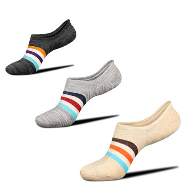 Men Combed Cotton Athletic Sock with Silicone Slip