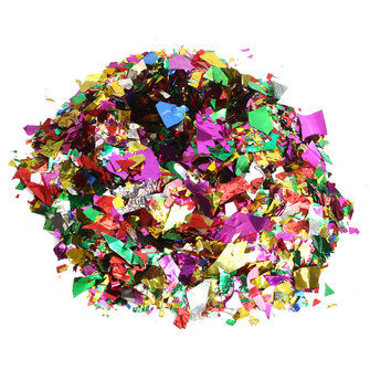 50g/1 Bag Multicolor Sprinkle Foil Confetti Birthday Festival Wedding Party Decoration