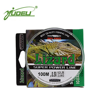 YUDELI 100m Fishing Line Nylon Thread Main Line Super Wear-resistant Strong Line Carp Sea Fish Cord