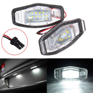 Buy 2x LED License Plate Light For Honda Civic Accord Odyssey Pilot Acura TL TSX MDX for $10.99 in Banggood store