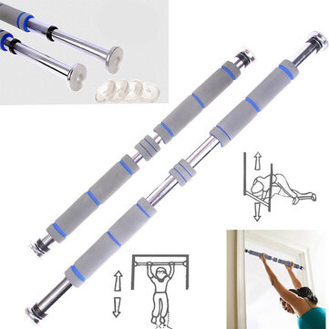 KALOAD Steel 200kg Load Door Horizontal Bars Adjustable Home Gym Pull Up Training Bar Exercise Tools