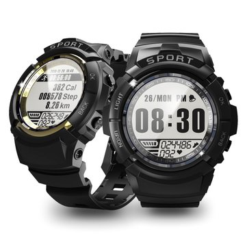 Bakeey S816 Three Proofings 24-hour Heart Rate Outdoor 6 Sport Mode Smart Watch 5ATM Shock-resistant Compass 30 Days Standby