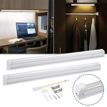 57CM 9W 40 LED 6000K Fluorescent Tube Light Under Cabinet Kitchen Bar Counter Lamp AC220V