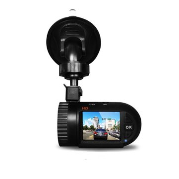 Cobao Car Recording Camera DVR 120 Degree HD Suction-cup AV-OUT Anti Shake Function