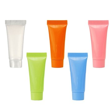 1PC 5ml Travel Empty Cosmetic Cream Lotion Shampoo Tube Container