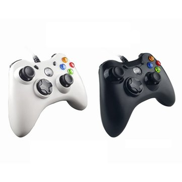 WELCOM WE-890S USB Wired Controller Gamepad LED Indicator Double Vibration Joystick Joypad