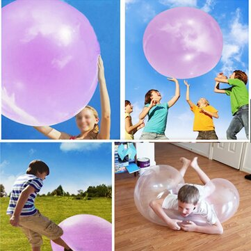 1 Meter Huge Amazing Tear Resistant WUBBLE Bubble Ball Kids Inflatable Toys