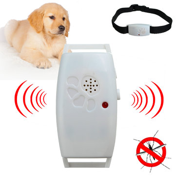 Dog Cat Pet Collar Ultrasonic Mosquito Bug Pest Repellent Repeller Pet Supplies