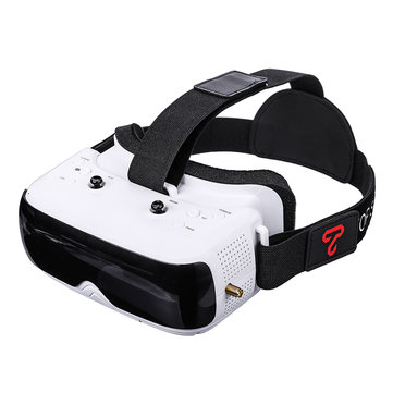 TOPSKY Prime1S 5.8G 48CH Récepteur de diversité de lunettes FPV de 2,4 pouces intégré Batterie DVR pour drone RC