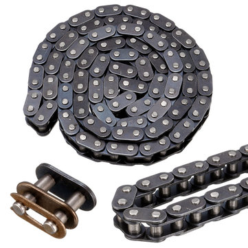 T8F Chain Belt With Buckle Link 116 For 43cc 47cc 49cc Mini Dirt ATV Quad Mini Moto
