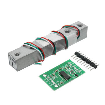 HX711 24bit AD Module + 1kg Aluminum Alloy Scale Weighing Sensor Load Cell Kit For Arduino