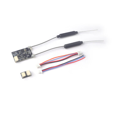 Flit10 2.4G 10CH Micro Telemetry Flysky Compatible Ibus Receiver for FS-I6X FS-i6S Turnigy Evolution