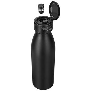 2 In 1 bluetooth 5.0 580ml Water Bottle TWS Earphone Waterproof True Wireless Stereo Headset With Mic