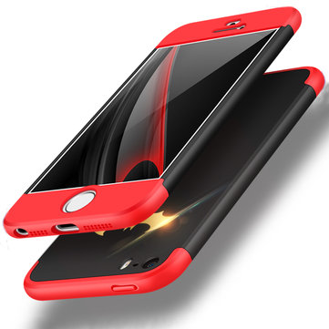 Bakeey™ 3 in 1 Double Dip 360° Full Protection Hard PC Protective Case for iPhone 5 5S SE