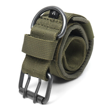 Nylon Tactical Dog Collar Military Adjustable Training Dog Collar with Metal D Ring Buckle L Size