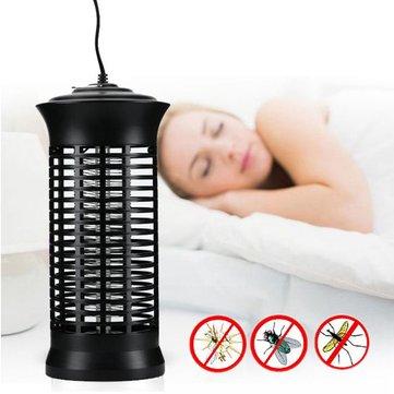 6W LED Electric Noiseless UV Lamp Mosquito Killer Flying Bug Repellent Night Light AC220V