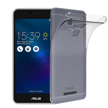 Bakeey™ Transparent Shockproof Soft TPU Back Protective Case for ASUS Zenfone 3 Max ZC520TL