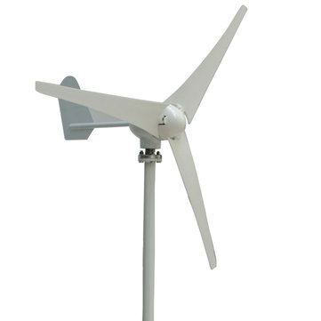 400W Power 3 Blades Wind Turbine Generator Tools Kit AC 12V / 24V Waterproof White