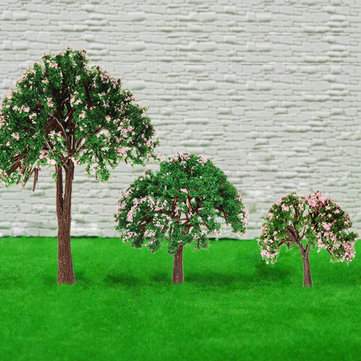 DIY Mini Decor Plastic Tree Micro Landscape Bottle Decorations