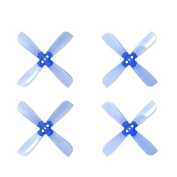 10 Pairs Gemfan 2035 2X3.5X4 4 Blade 1.5mm Mounting Hole CW CCW FPropeller for RC Drone FPV Racing
