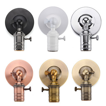 E27/E26 Modern Edison Vintage Ceiling Light Wall Lamp Bulb Holder Socket Sconce