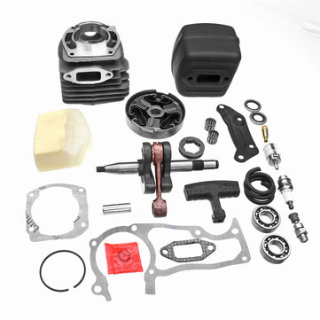 52mm Air Cylinder Piston Assembly Kit For Husqvarna 362 365 371 372 XP 5039092-71